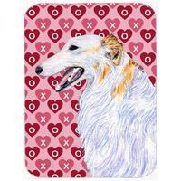 Borzoi Hearts Love & Valentines Day Portrait Glass Cutting