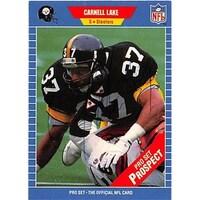 9583d0edcd8 Shop Pittsburgh Steelers 1990 Pro Set No. 712 Ken Davidson ed ...