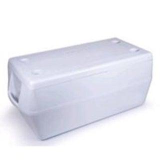 Rubbermaid 2B8001 Marine Cooler, 150 Quart, White