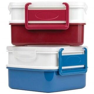Maxam KTPSET6 Locking Lunch Container Set - 6 Piece