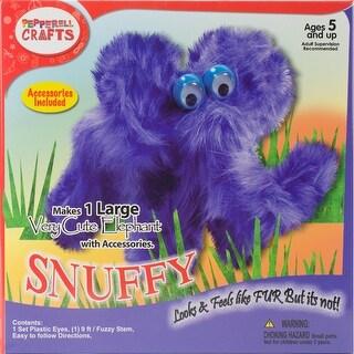 Fuzzy Stem Kit-Snuffy Elephant - snuffy elephant