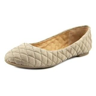 Lucky Brand Embany Round Toe Canvas Ballet Flats