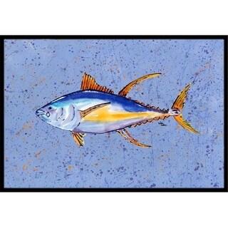 Carolines Treasures 8535JMAT 24 x 36 In. Tuna Fish Indoor or Outdoor Mat