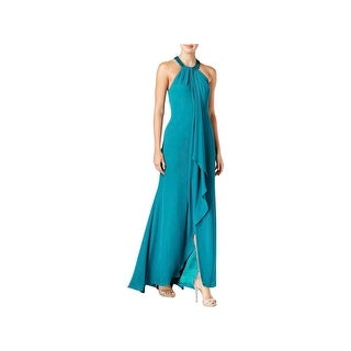Calvin Klein Womens Formal Dress Chiffon Embellished - 12