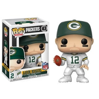 "FunKo POP! Football Green Bay Packers Aaron Rodgers 3.75"" Vinyl Figure"