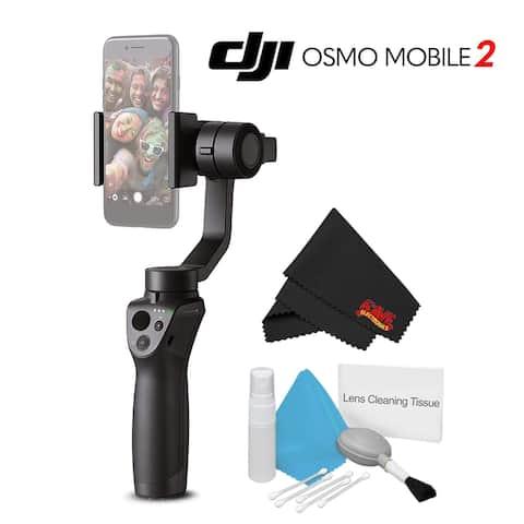 DJI osmo mobile 2 Handheld Smartphone Gimbal Starter Bundle