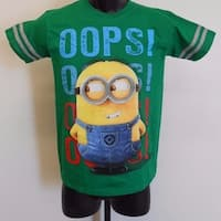 "Despicable Me ""Oops"" Minions Youth Size 14-16 Large L Shirt 70Jy"