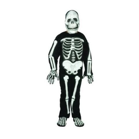 RG Costumes 90001-M Skeleton Costume - Size Child Medium 8-10