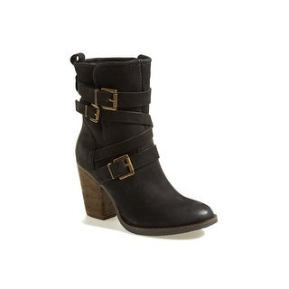 Steve Madden Womens Yale Closed Toe Ankle Fashion Boots
