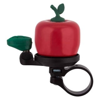 SUNLITE Apple Bicycle Bell - Red - CD618
