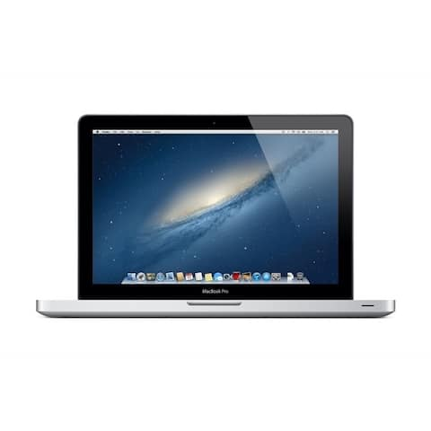 """Apple MacBook Pro MD101LL/A Intel Core i5-3210M X2 2.5GHz 4GB 500GB 13.3"""", Silver (Scratch and Dent)"""