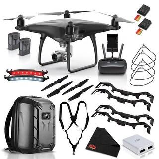DJI Phantom 4 Pro Obsidian Edition Quadcopter Master The Skies Kit