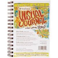 "34 Sheets - Strathmore Visual Journal Mixed Media Vellum 5.5""X8"""