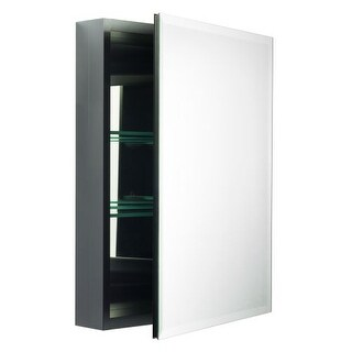 Miseno MBC2620 Dual Mount 26  X 20  Beveled Medicine Cabinet (Surface or Recessed  sc 1 st  Overstock.com & Shop Robern RC2426D4FP1 R3 24