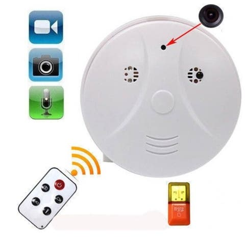 Mini Security Camera HD DVR Hidden Camera Smoke Detector Motion Detection Video Recorder Hot EK