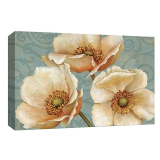 "PTM Images 9-153850  PTM Canvas Collection 8"" x 10"" - ""Windflower"" Giclee Flowers Art Print on Canvas"