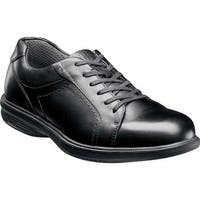 Nunn Bush Men's Mayfield St. Lace to Toe Oxford Black Leather