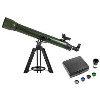 Celestron ExploraScope 80AZ Refractor-Deluxe Imaging Telescope
