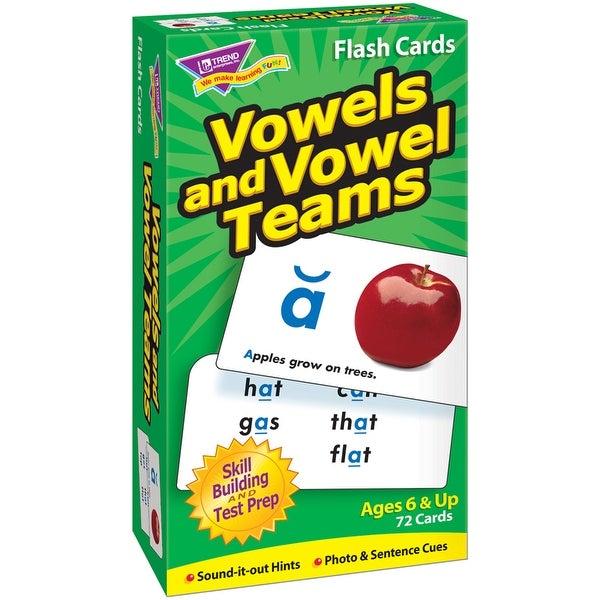 (3 Ea) Flash Cards Vowels & Vowel Teams 72/Box