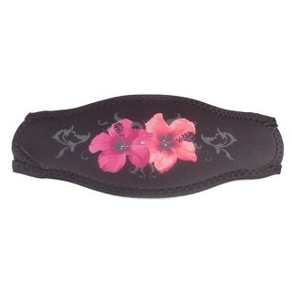 Innovative Scuba Hibiscus Mask Strap Pink