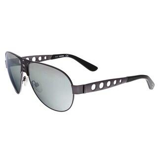 Diesel DL0092 09C Gunmetal Aviator Sunglasses
