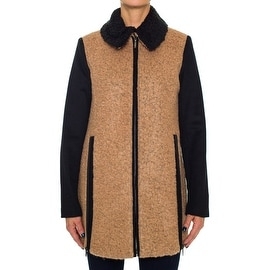 Laundry By Shelli Segal Wool Coat with Front Side Zip