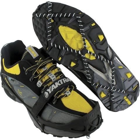 Yaktrax Pro 08611 Winter Shoe Traction Cleats for Snow & Ice, Black, Medium