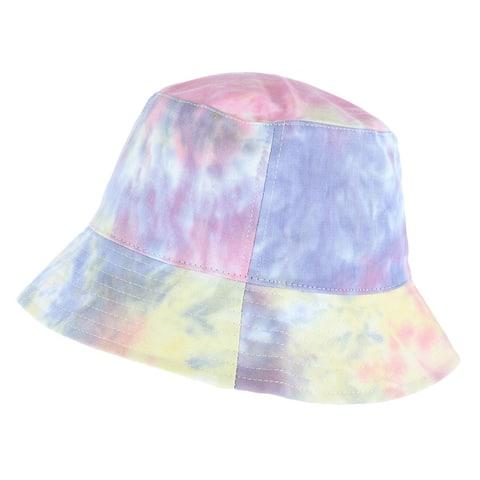 David & Young Women's Tie Dye Bucket Hat
