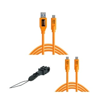 Tether Tools TetherPro USB Type-C Male to Type-A Male Cable Bundle