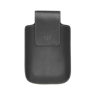 OEM BlackBerry 9520 9530 9550 Synthetic Holster - Black