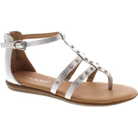 Aerosoles Women's Social Chlub Gladiator Sandal - Silver