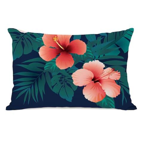 Hawaiian Tropics - Lumbar Pillow