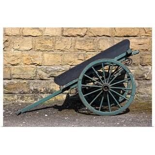 """""""A Wheelbarrow, England"""" Poster Print"""
