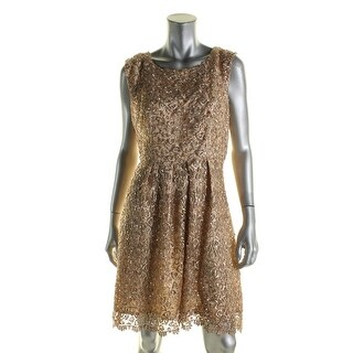 Decode 1.8 Womens Semi-Formal Dress Embroidered Sequined - 10