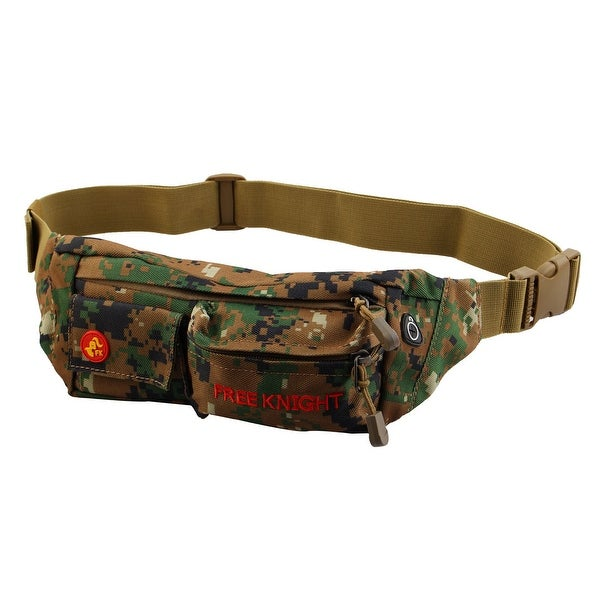 FreeKnight Authorized Running Jogging Sports Pouch Waist Bag Camouflage Green