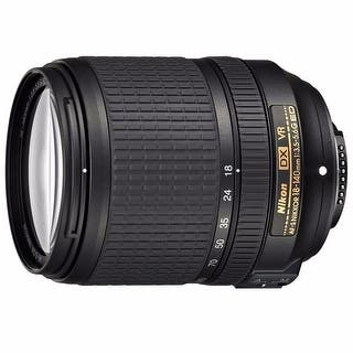 Nikon AF-S DX NIKKOR 18-140mm f/3.5-5.6G ED VR Lens - Black|https://ak1.ostkcdn.com/images/products/is/images/direct/51e923a190a58795173f10063aca9ac56bf6df90/Nikon-AF-S-DX-NIKKOR-18-140mm-f-3.5-5.6G-ED-VR-Lens.jpg?impolicy=medium