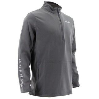 Huk Men's Tidewater Iron XX-Large 1/4 Zip Sweater