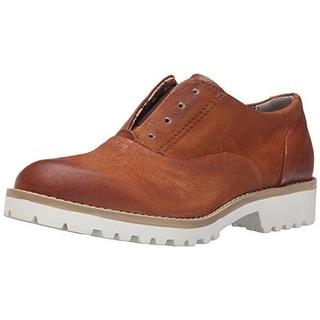 Miz Mooz Womens Leather Slip On Oxfords - 39 medium (b,m)