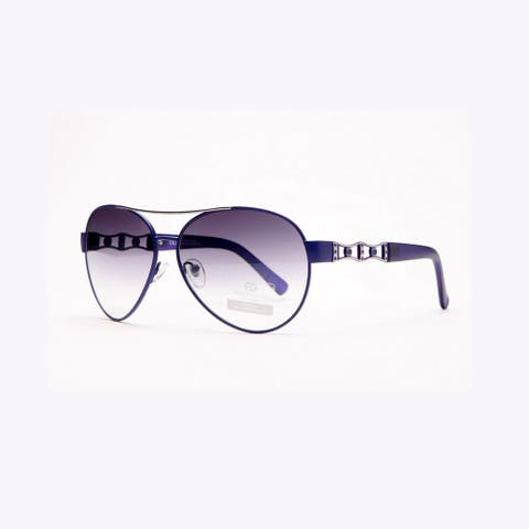 Anais Gvani Women's Fashion Aviators With Side Punch Out Design By Dasein