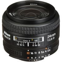 Nikon AF NIKKOR 24mm f/2.8D Lens (International Model)