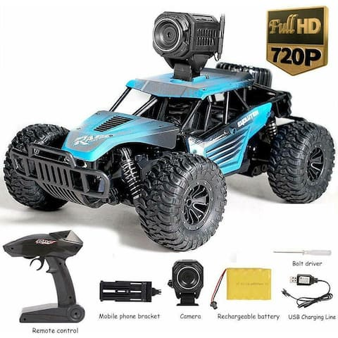 Kanstar 2.4Ghz 4WD 1/16 Scale RC Trucks Rc Crawlers Remote Control Car with Rechargeable