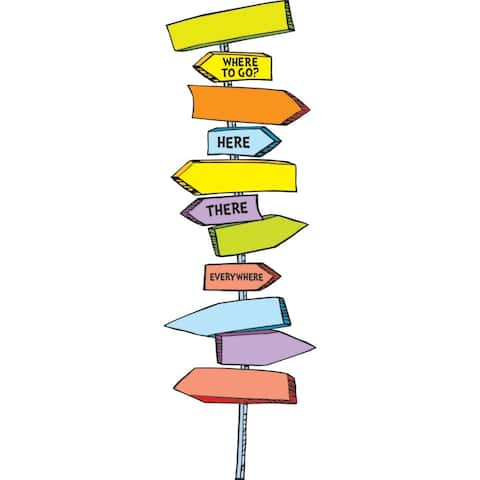Dr Seuss Blank Directional Signs