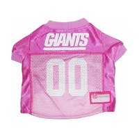 New York Giants Pink Dog Jersey - Large