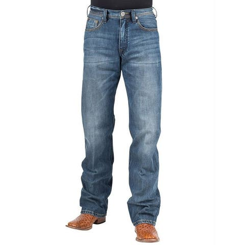 Stetson Western Denim Jeans Mens 1312 Modern Fit