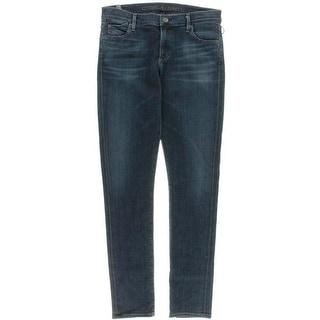 Citizens of Humanity Womens Denim Stretch Skinny Jeans