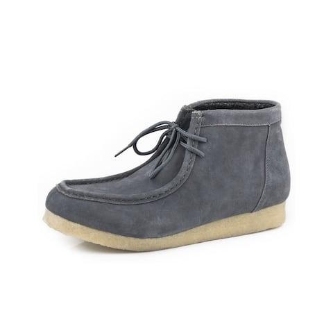 Roper Casual Shoes Mens Gum Sticker Gray