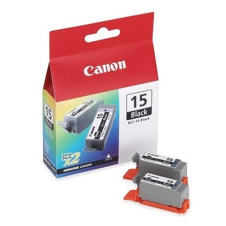 Canon 8190A003M BCI-15 BLACK INK FOR I-70 PRINTER