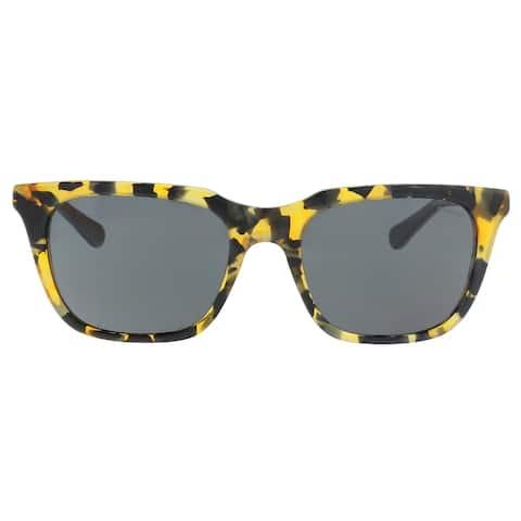 Coach HC8236 538887 Honey Mosia Rectangle Sunglasses - 56-19-140