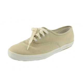 Keds Womens Champion Canvas Lace Up Fashion Sneakers - 7 extra wide (e+, ww)