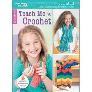 Leisure Arts-Teach Me To Crochet